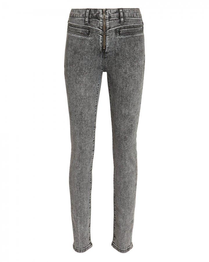 Power High Acid Wash Jeans