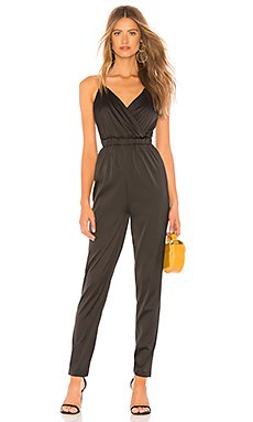 Nia Paper Bag Waist Satin Jumpsuit                                             by the way.