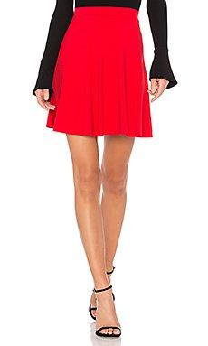 High Waist Flare Skirt                                             Susana Monaco