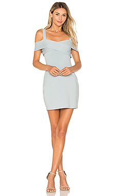 Evie Cold Shoulder Mini Dress                                             by the way.