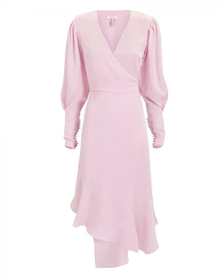 Kyrene Wrap Midi Dress