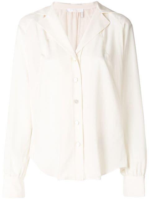 Chloé Open-collar Shirt - Farfetch