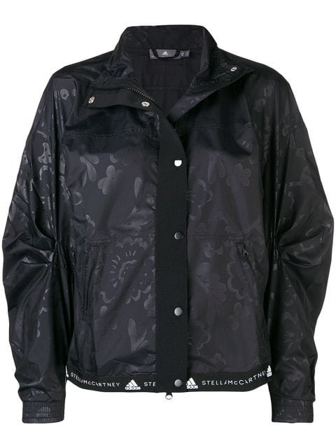 Adidas By Stella Mccartney Printed Running Lightweight Jacket - Farfetch