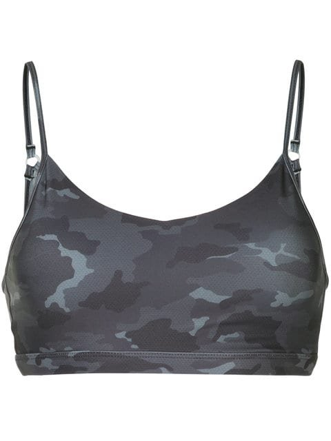 Nimble Activewear Camouflage Cropped Top - Farfetch