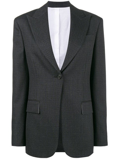 Calvin Klein 205W39nyc Single Breasted Blazer - Farfetch