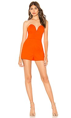 Shary Sweetheart Strapless Romper                                             by the way.
