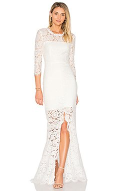 All Over Lace Gown                                             RACHEL ZOE