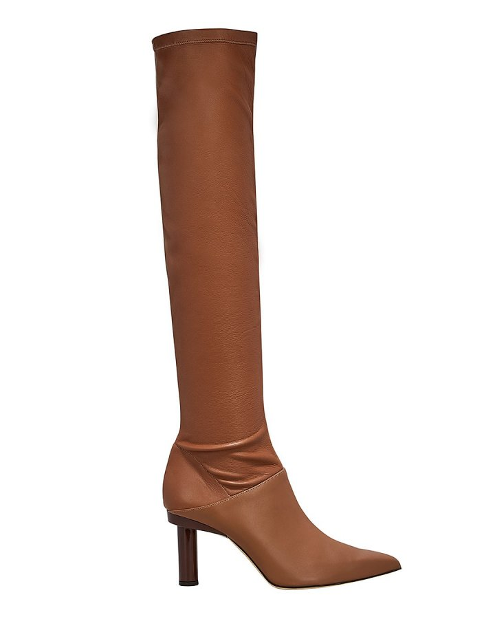 Caleb Tan Leather Boots