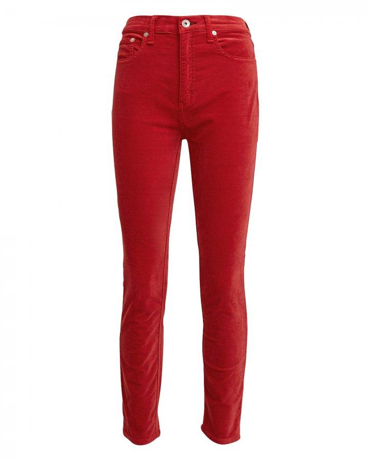 Skinny Chili Velvet Skinny Pants