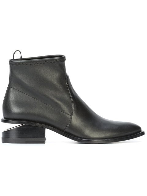 Alexander Wang Kori Stretch Booties - Farfetch