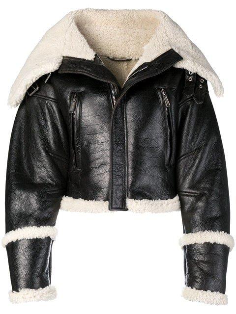 Dsquared2 Oversized Biker Jacket - Farfetch