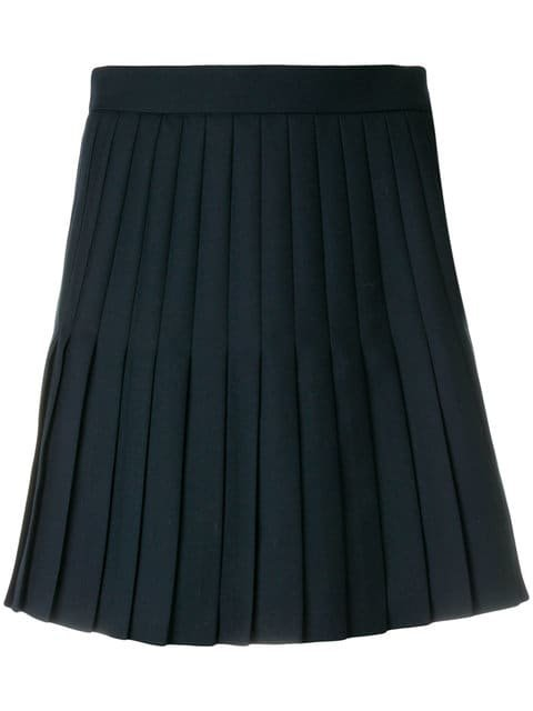 Thom Browne Pleated Uniform Twill Skirt - Farfetch
