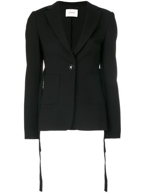 Dorothee Schumacher Belted Fitted Jacket - Farfetch