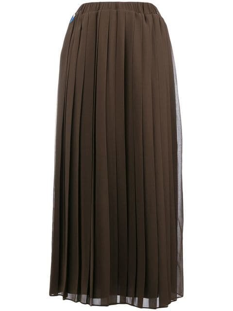 Ultràchic Stars Pleated Skirt - Farfetch