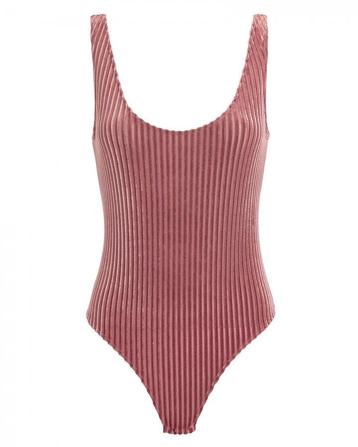 Velvet Rib Bodysuit