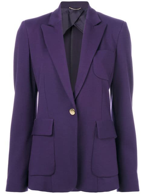 Les Copains Classic Fitted Blazer - Farfetch