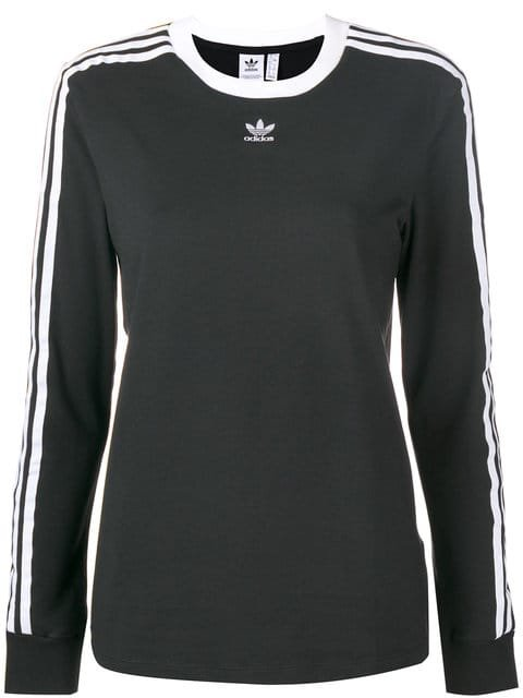 Adidas 3-Stripes Fitted Sweatshirt - Farfetch