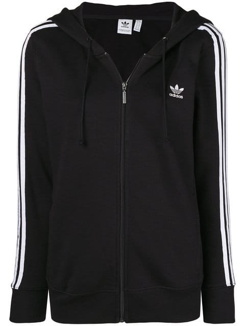 Adidas 3-Stripes Signature Hoodie - Farfetch