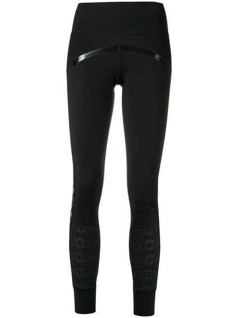 Adidas By Stella Mccartney Perforated Running Leggings - Farfetch
