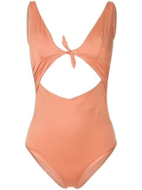Duskii Monroe Cut-out Swimsuit - Farfetch