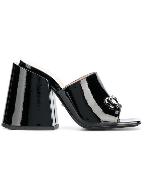 Gucci High-heeled Slides - Farfetch