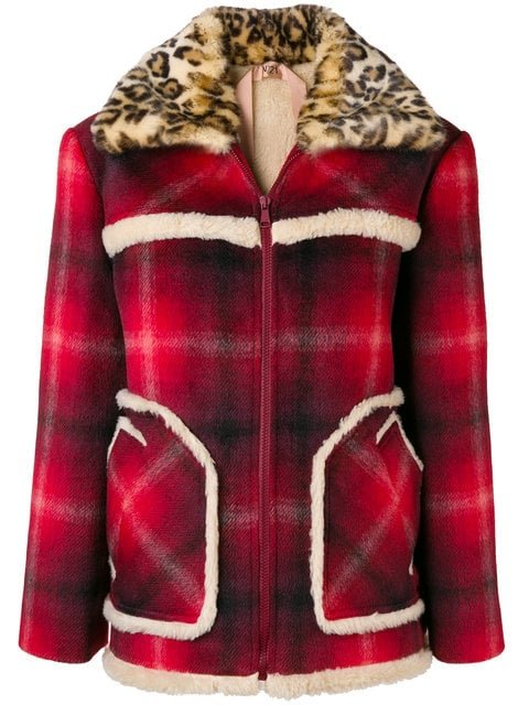 Nº21 Eco-fur Collar Jacket - Farfetch