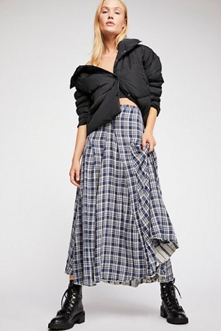 Lily Cotton Maxi Skirt