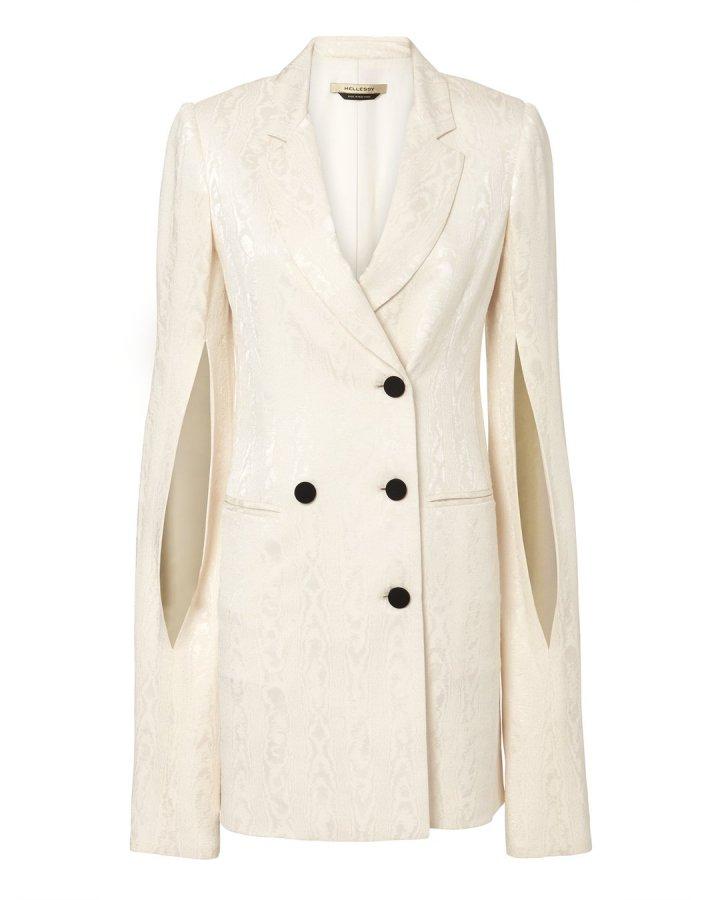 Thatcher Ivory Blazer Dress