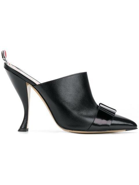 Thom Browne Pebble & Calf Leather High Heel Mule - Farfetch