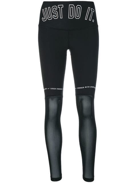 Nike Transparency Leggings - Farfetch