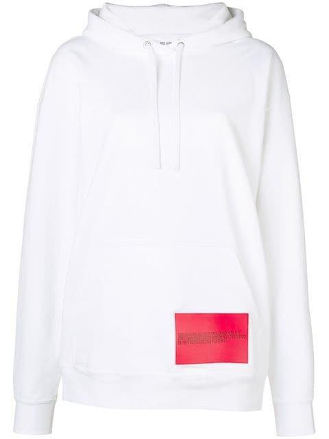 Calvin Klein Jeans Est. 1978 Contrast Print Loose Hoodie - Farfetch