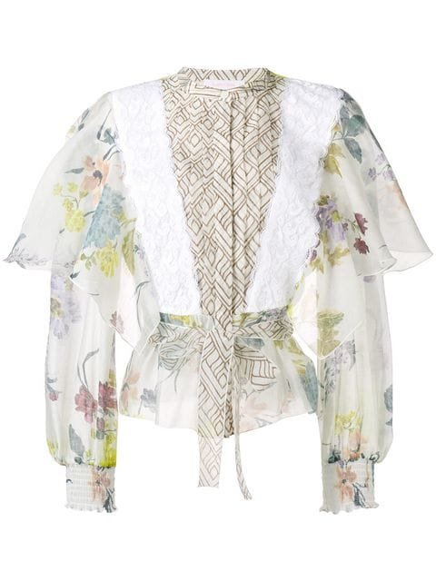 See By Chloé Flared Sleeve Blouse - Farfetch