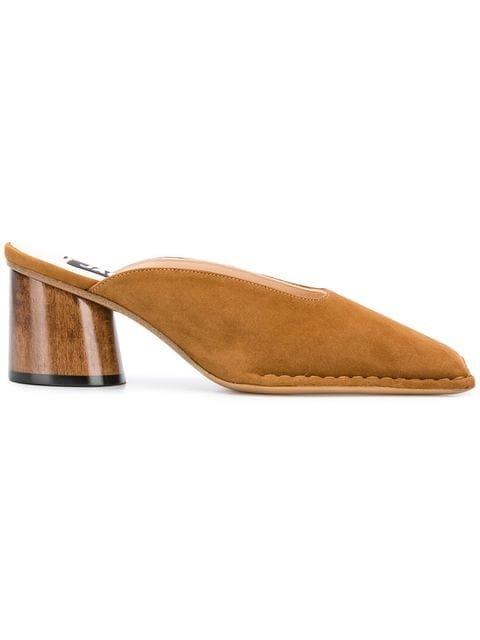Jacquemus Block Heel Mules - Farfetch