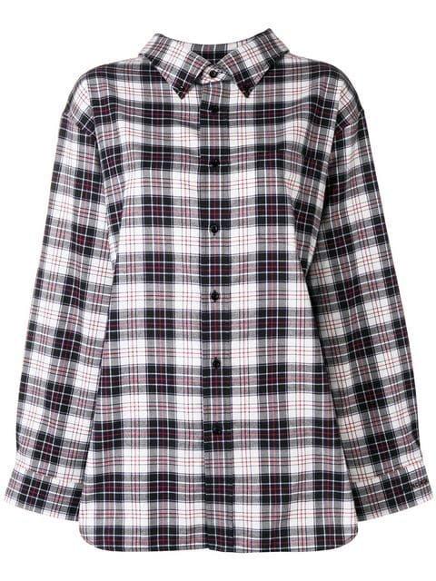 Balenciaga Swing Collar Shirt - Farfetch