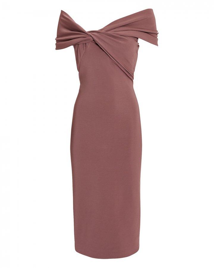 Twist Top Pencil Dress