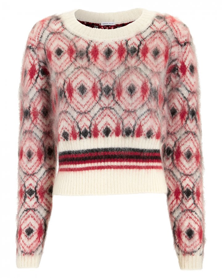 Mohair Cropped Sweater