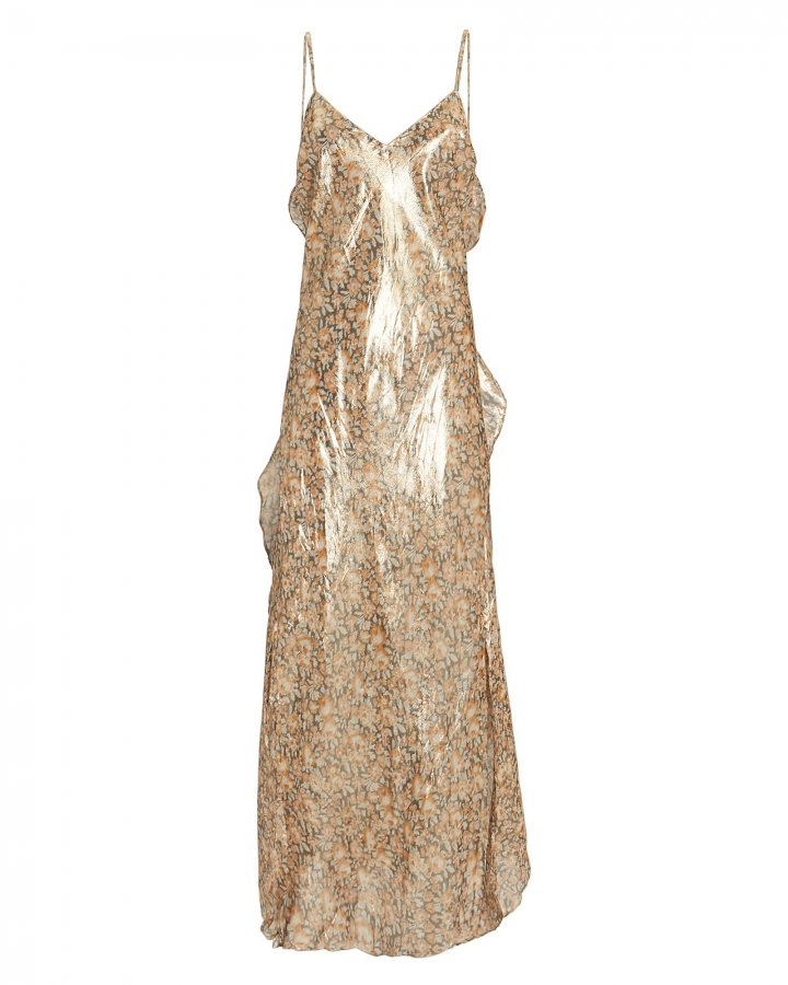 Kate Ruffle Slip Dress