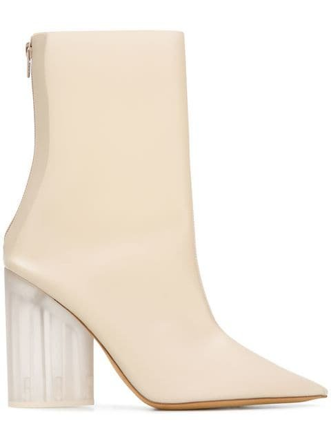 Yeezy Block Heel Boots - Farfetch