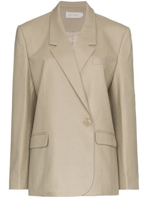 Low Classic One Button Down Double-breasted Blazer - Farfetch