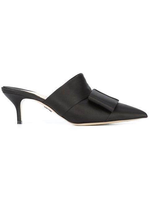 Paul Andrew Bow Detail Mules - Farfetch