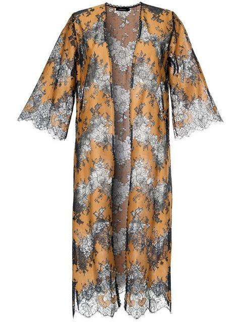 Loveless Lace Kimono - Farfetch