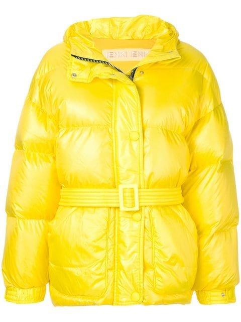 Ienki Ienki Michelin Belted Jacket - Farfetch
