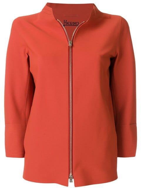 Herno Cropped Sleeve Boxy Jacket - Farfetch