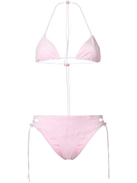 Fenty X Puma Terrycloth Triangle Bikini - Farfetch