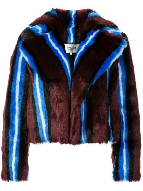 Dvf Diane Von Furstenberg Faux Fur Coat - Farfetch