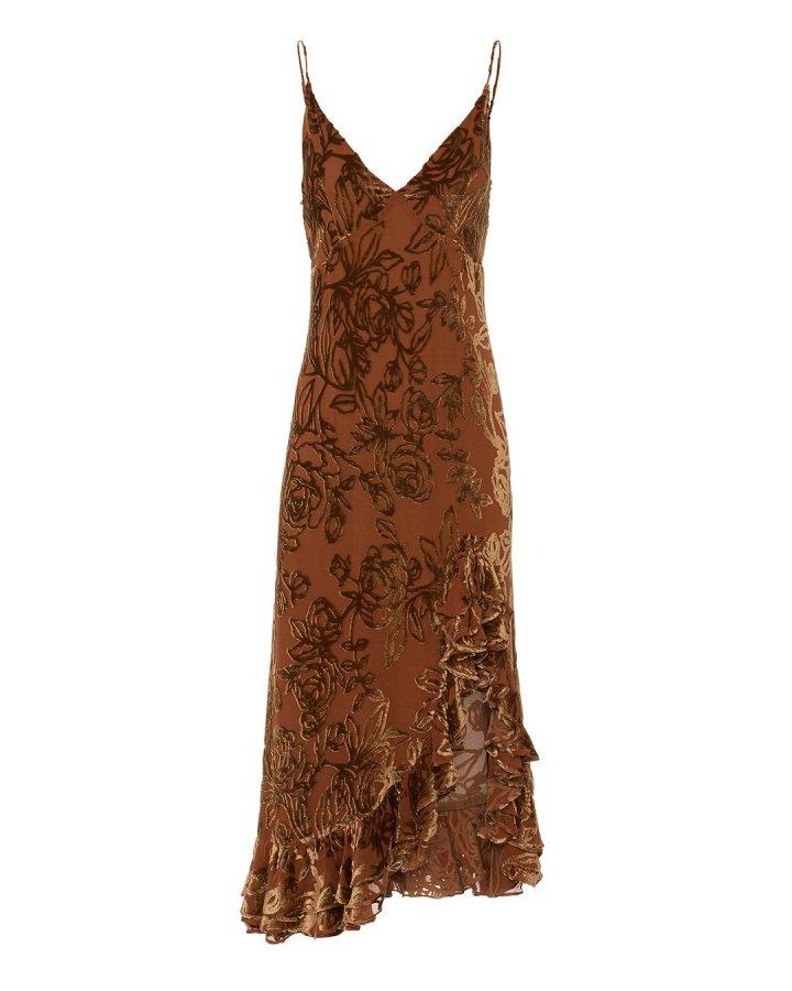 Elvira Velvet Slip Dress