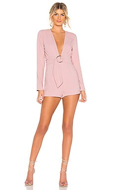 Brianna O Ring Belted Romper                                             by the way.