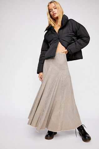 Lily Cord Maxi Skirt