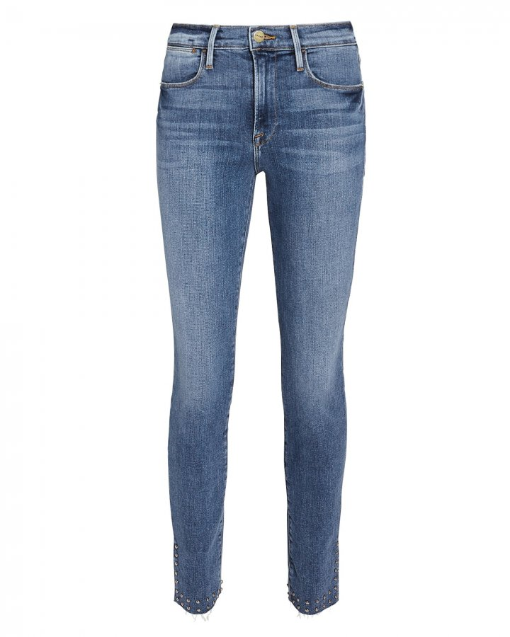 Le High Studded Skinny Jeans