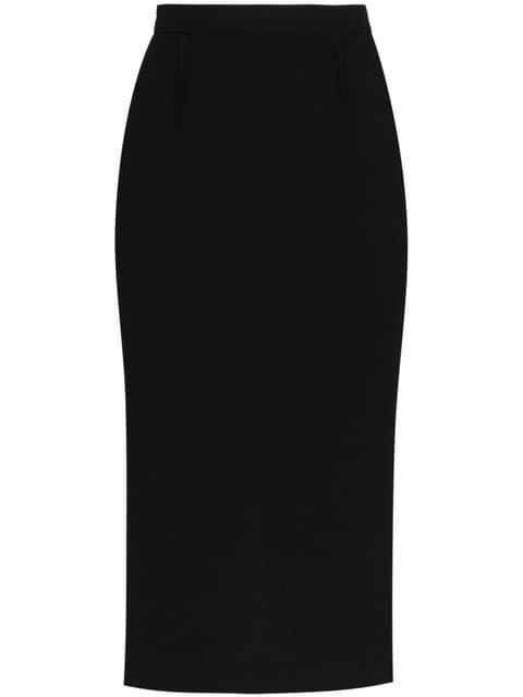 Roland Mouret Arreton Wool Pencil Skirt - Farfetch